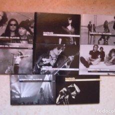 CDs de Música: LOTE 8 LIBRO CD HEROES DEL SILENCIO BUNBURY EL PAIS. Lote 194100077