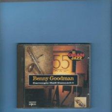 CDs de Música: CD- BENNY GOODMAN - CARNEGIE HALL CONCERT I. Lote 194154561
