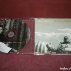 CDs de Música: CD SINGLE PROMO ROBBIE WILLIAMS / LAZY DAYS - CAJA FINA PLASTICO. Lote 194154801
