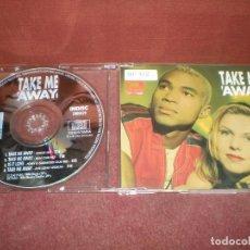 CDs de Música: CD MAXI SINGLE TWENTY 4 SEVEN / TAKE ME AWAY 4 TRACKS VERSIONES - CAJA FINA PLASTICO. Lote 194159370