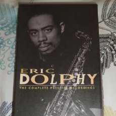 CDs de Música: ERIC DOLPHY THE COMPETE PRESTIGE RECORDINGS ESTUCHE LIBRO Y 9 CD EN 5 ESTUCHES DEFECTOS EN LA CAJA. Lote 194160428