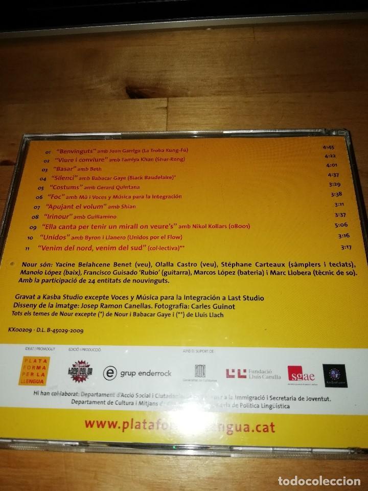 CDs de Música: DETOTARREL - NOUR - EL CATALÀ, LLENGUA COMUNA - PLATAFORMA PER LA LLENGUA 2009 - JOAN GARRIGA - BETH - Foto 2 - 194161500