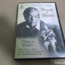 CDs de Música: PERRATE DE UTRERA CON DIEGO DEL GASTOR (CD) GRABACIONES EN DIRECTO AÑO – 2015. Lote 242956735