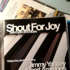 CDs de Música: VARIOUS – SHOUT FOR JOY: PIANO JAZZ AND BLUES. Lote 194171250