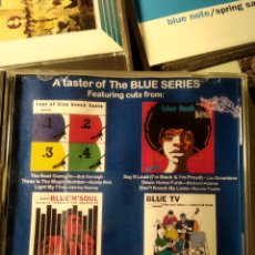 CDs de Música: A TASTER OF THE BLUE SERIES (BLUE NOTE). Lote 194171346