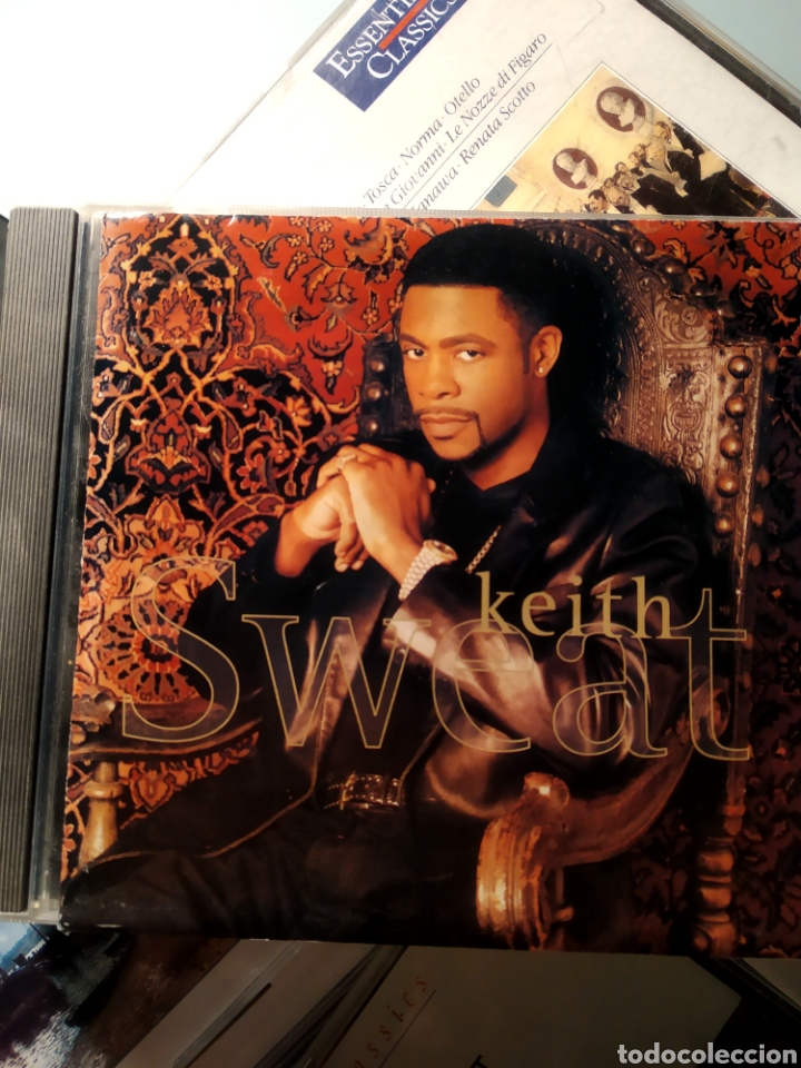 KEITH SWEAT ‎– KEITH SWEAT (HIP HOP) (Música - CD's Hip hop)