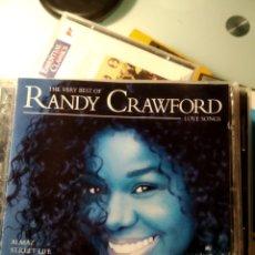 CDs de Música: RANDY CRAWFORD – THE VERY BEST OF RANDY CRAWFORD LOVE SONGS. Lote 194171453