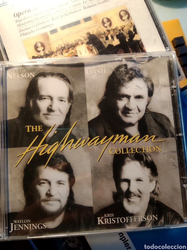 WILLIE NELSON, JOHNNY CASH, WAYLON JENNINGS, KRIS KRISTOFFERSON ‎– THE HIGHWAYMAN COLLECTION (Música - CD's Country y Folk)