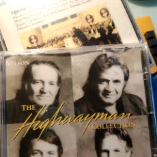 CDs de Música: WILLIE NELSON, JOHNNY CASH, WAYLON JENNINGS, KRIS KRISTOFFERSON ‎– THE HIGHWAYMAN COLLECTION. Lote 194173321