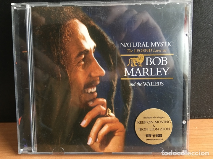 BOB MARLEY AND THE WAILERS - NATURAL MYSTIC (THE LEGEND LIVES ON) (CD, COMP) (TUFF GONG)(D:NM/C:NM) (Música - CD's Reggae)