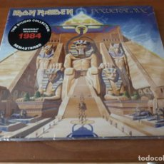 CDs de Música: IRON MAIDEN POWERSLAVE (REMASTERED) DIGIPACK CD (29TH MAR. 2019)-JUDAS. Lote 194184687