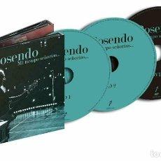 CDs de Música: MI TIEMPO SEÑORÍAS-ROSENDO (2CD+DVD)- NEW 2019 - LEÑO. Lote 194184890