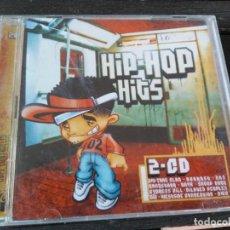 CDs de Música: HIP HOP HITS - RECOPILATORIO 2 CDS. Lote 194186603