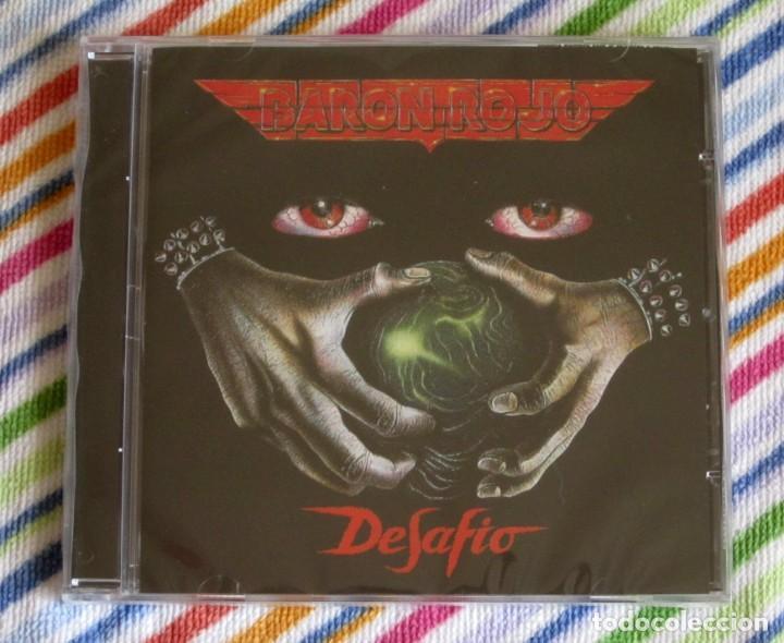 BARON ROJO - DESAFIO CD NUEVO Y PRECINTADO - HEAVY METAL HARD ROCK (Música - CD's Heavy Metal)