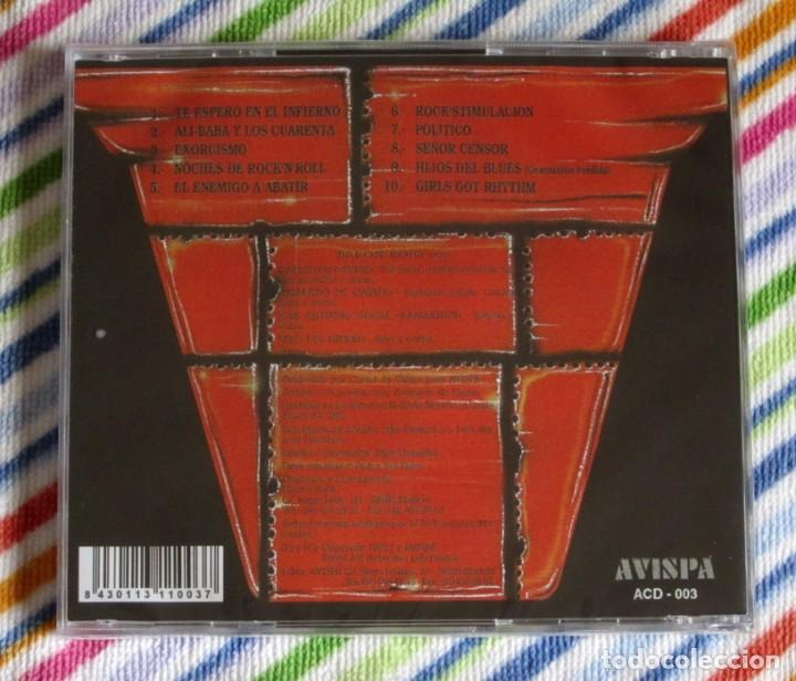 CDs de Música: BARON ROJO - DESAFIO CD NUEVO Y PRECINTADO - HEAVY METAL HARD ROCK - Foto 2 - 194195973
