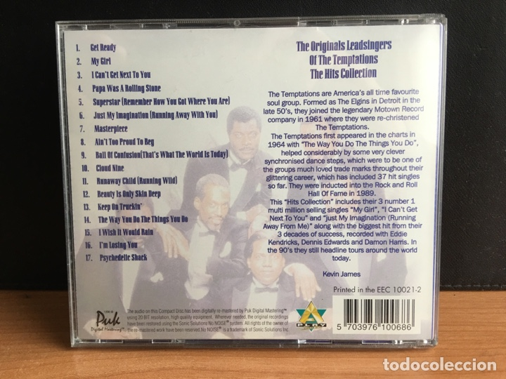 CDs de Música: The Original Lead Singers Of The Temptations (CD, Comp) (D:NM/C:NM) - Foto 2 - 194202925