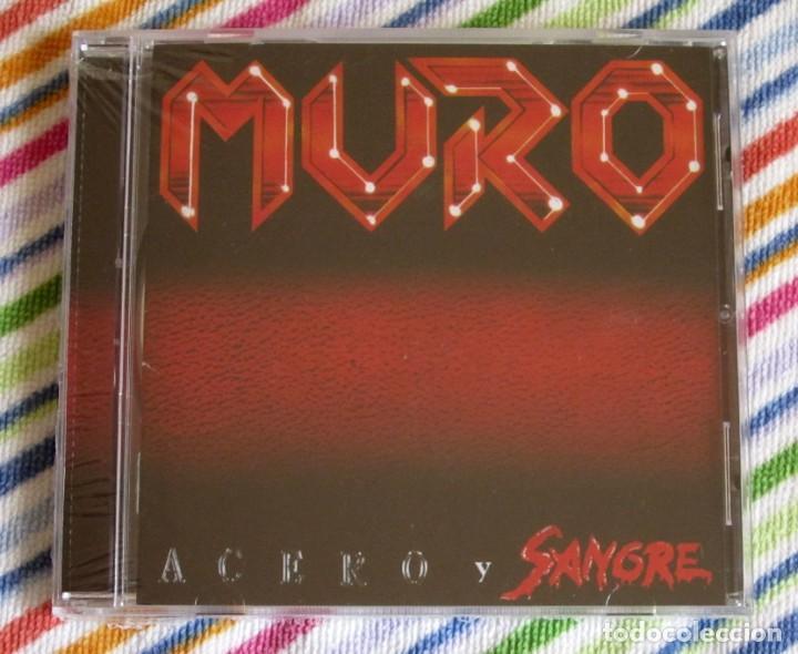 MURO - ACERO Y SANGRE CD NUEVO Y PRECINTADO - HEAVY METAL (Música - CD's Heavy Metal)