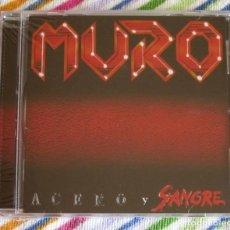 CDs de Música: MURO - ACERO Y SANGRE CD NUEVO Y PRECINTADO - HEAVY METAL. Lote 194202965