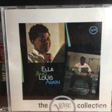 CDs de Música: ELLA AND LOUIS - ELLA AND LOUIS AGAIN (CD, ALBUM) (D:NM/C:NM). Lote 194203067
