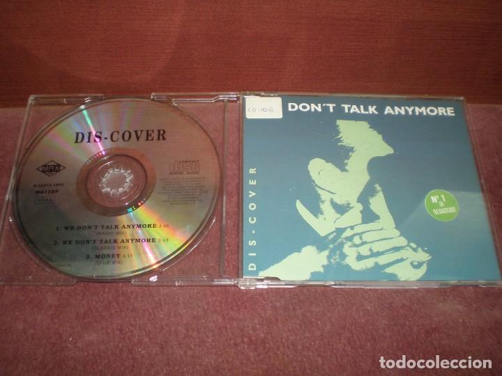 CD MAXI SINGLE DIS-COVER / WE DON T TALK ANYMORE 3 TRACKS (Música - CD's Disco y Dance)