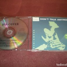 CDs de Música: CD MAXI SINGLE DIS-COVER / WE DON T TALK ANYMORE 3 TRACKS. Lote 194203900