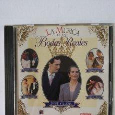 CDs de Música: LA MÚSICA DE LAS BODAS REALES. Lote 194204790