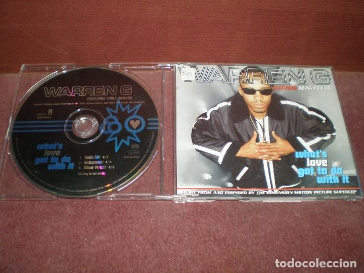 CD MAXI SINGLE WARREN G / WHAT S LOVE GOT TO DO WITH IT - 3 TRACKS (Música - CD's Hip hop)