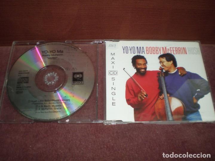 CD MAXI SINGLE YO-YO MA BOBBY MCFERRIN / HUSH - 3 TRACKS (Música - CD's Otros Estilos)