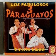 CDs de Música: LOS FABULOSOS 3 PARAGUAYOS - CIELITO LINDO - CD 1994 - CAMEO. Lote 194214050
