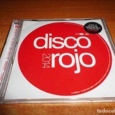 CDs de Música: DISCO ROJO 2014 CD ALBUM 2014 INNA YANDEL LOLITA JOLIE R.I.O. U-JEAN REEL 2 REAL PUMVA LUMIDEE. Lote 194215928