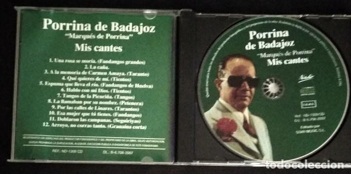 CDs de Música: CD flamenco PORRINA DE BADAJOZ - Foto 3 - 194217261