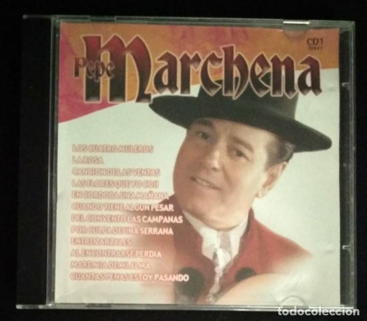 CD FLAMENCO PEPE MARCHENA (Música - CD's Flamenco, Canción española y Cuplé)