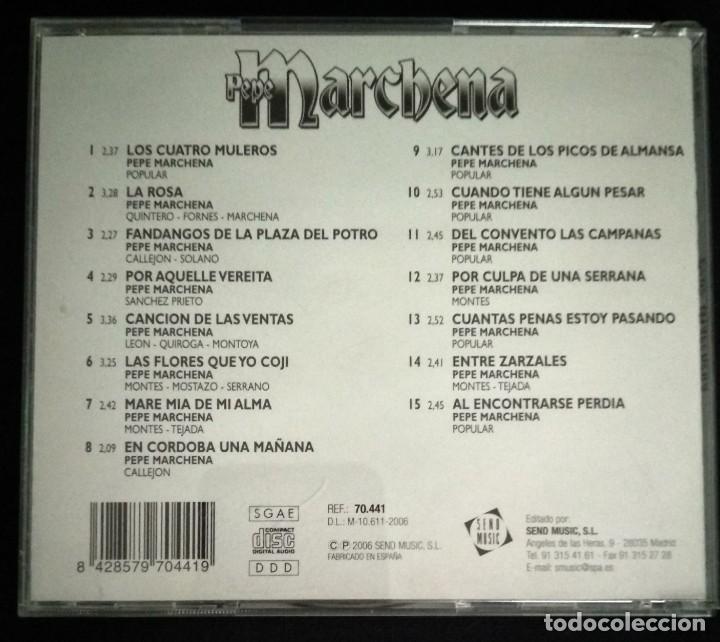 CDs de Música: CD flamenco PEPE MARCHENA - Foto 2 - 194217783