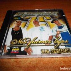 CDs de Música: 3 PESOS NOS FUIMOS LEJOS CD ALBUM DEL AÑO 2005 COLOMBIA CONTIENE 19 TEMAS 100% REGGAETON. Lote 194220273