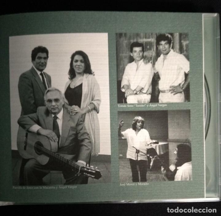 CDs de Música: CD flamenco JOSÉ MERCÉ - FDO DE LA MORENA - PAQUERA JEREZ - MORAITO CHICO - Foto 4 - 194221382