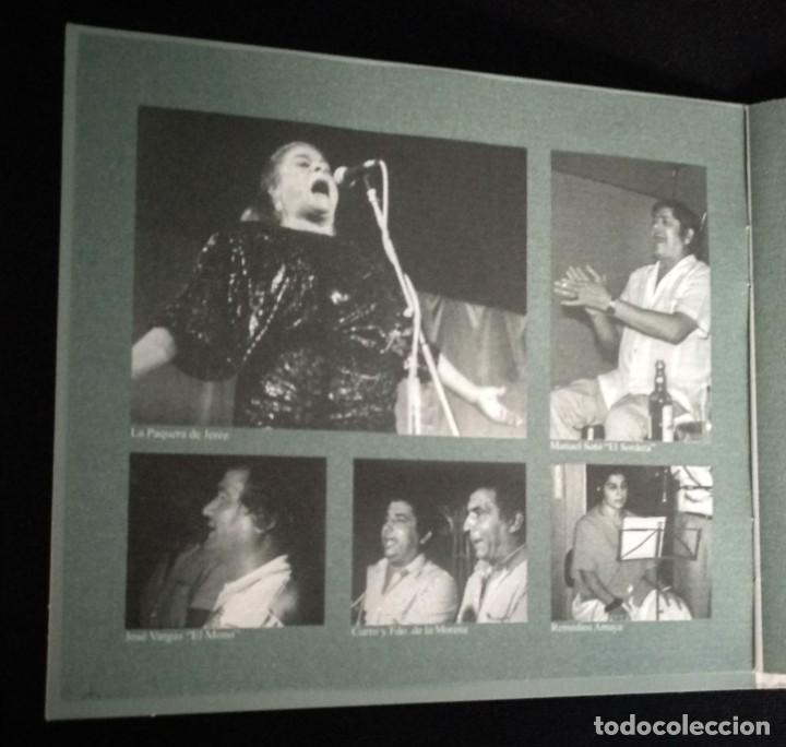 CDs de Música: CD flamenco JOSÉ MERCÉ - FDO DE LA MORENA - PAQUERA JEREZ - MORAITO CHICO - Foto 5 - 194221382