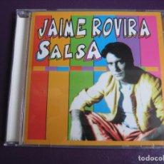 CDs de Música: JAIME ROVIRA CD PICAP 1995 - SALSA - LATIN POP - SIN ESTRENAR. Lote 194221825