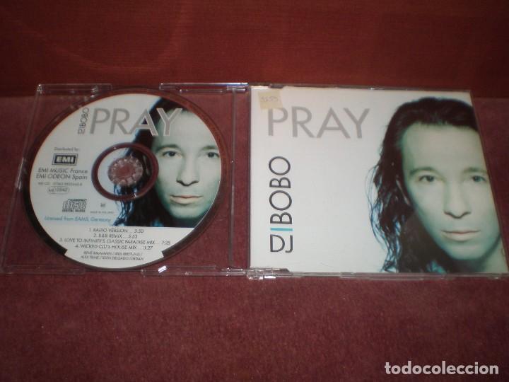 CD MAXI SINGLE D.J. BOBO / PRAY 4 TRACKS (Música - CD's Disco y Dance)