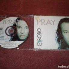CDs de Música: CD MAXI SINGLE D.J. BOBO / PRAY 4 TRACKS. Lote 194221933