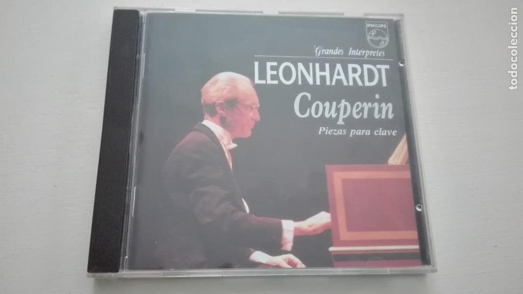 LOUIS / FRANÇOIS / ARMAND-LOUIS COUPERIN CD CLAVECIN GUSTAV LEONHARDT (Música - CD's Clásica, Ópera, Zarzuela y Marchas)