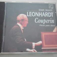 CDs de Música: LOUIS / FRANÇOIS / ARMAND-LOUIS COUPERIN CD CLAVECIN GUSTAV LEONHARDT. Lote 194222757