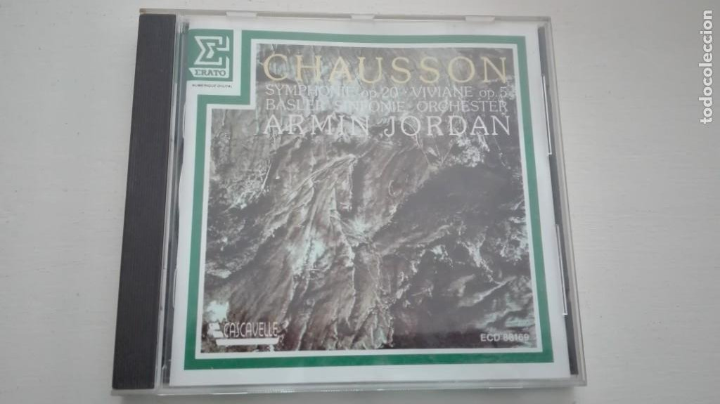 ERNEST CHAUSSON CD SYMPHONIE OP 20 VIVIANE BASLER SINFONIE ORCHESTER ARMIN JORDAN DDD (Música - CD's Clásica, Ópera, Zarzuela y Marchas)