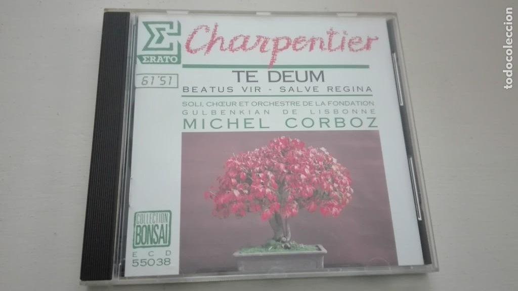 MARC-ANTOINE CHARPENTIER CD TE DEUM Y OTROS MICHEL CORBOZ (Música - CD's Clásica, Ópera, Zarzuela y Marchas)