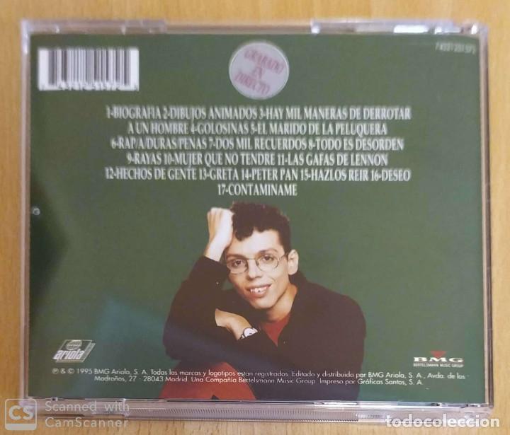 CDs de Música: PEDRO GUERRA (GOLOSINAS - GRABADO EN DIRECTO) CD 1995 - Foto 2 - 194225041