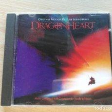 CDs de Música: CD. BANDA SONORA / OST DRAGON HEART MCA 1996 MUSICA DE RANDY EDELMAN. Lote 194225696
