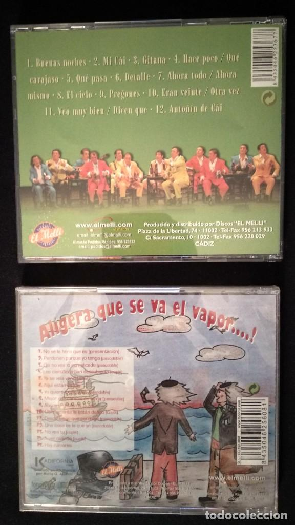 CDs de Música: Lote 2 CD chirigotas CARNAVAL CÁDIZ - Foto 2 - 194226211