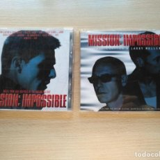 CDs de Música: CD.+ CD SINGLE MISSION:IMPOSSIBLE BSO / OST DANNY ELFMAN, ADAM CLAYTON & LARRY MULLEN (U2). Lote 194227096