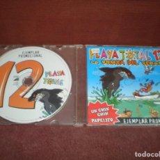 CDs de Música: CD SINGLE PROMO PLAYA TOTAL 12 LA BOMBA DEL VERANO. Lote 194229035