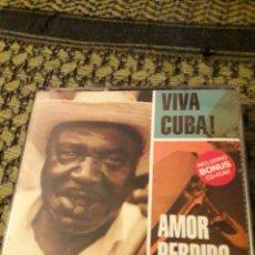 CDs de Música: PACK CD + CD ROM. VIVA CUBA. AMOR PERDIDO. VARIOS ARTISTAS. EDICION EMI DE 2091. RARO. Lote 194230240