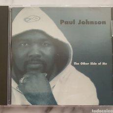 CDs de Música: CD PAUL JOHNSON- THE OTHER SIDE OF ME. TECHNO TECNO HOUSE RAREZA. Lote 194230406